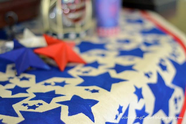 Patriotic July 4th Vignette