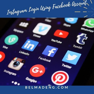 Instagram Login Using Facebook Account