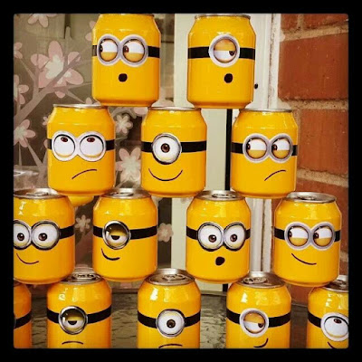 Soda Cans Minions