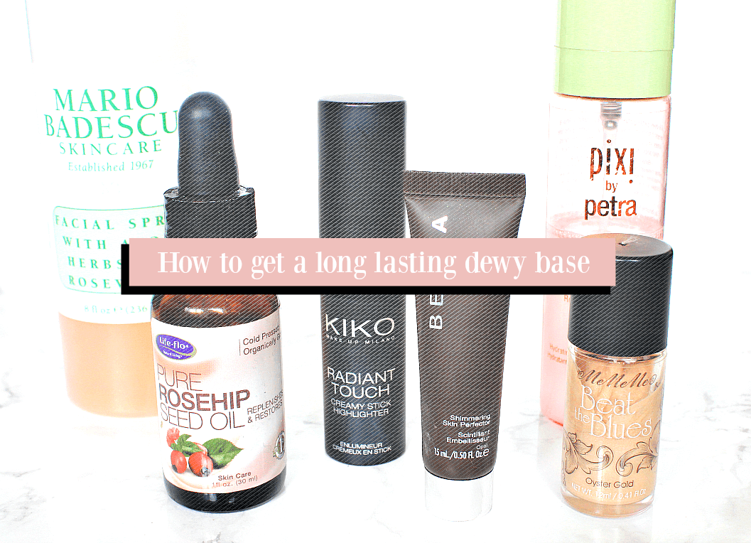 how to get a long lasting dewy base foundation