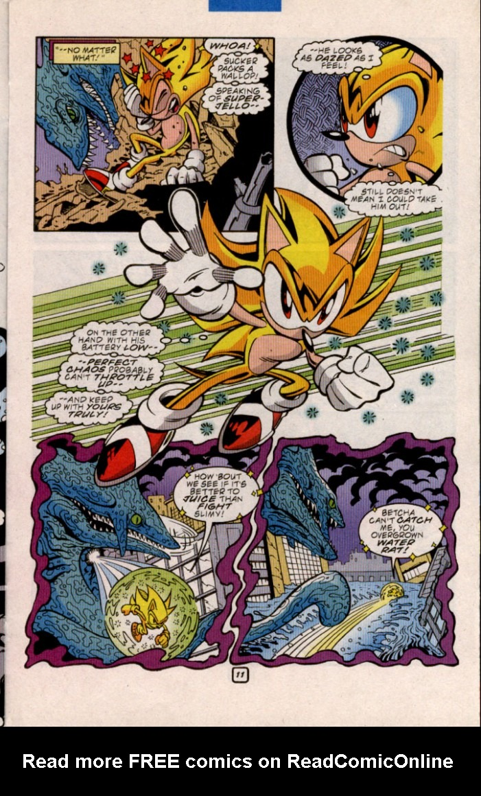 Read online Sonic The Hedgehog comic -  Issue #84 - 11