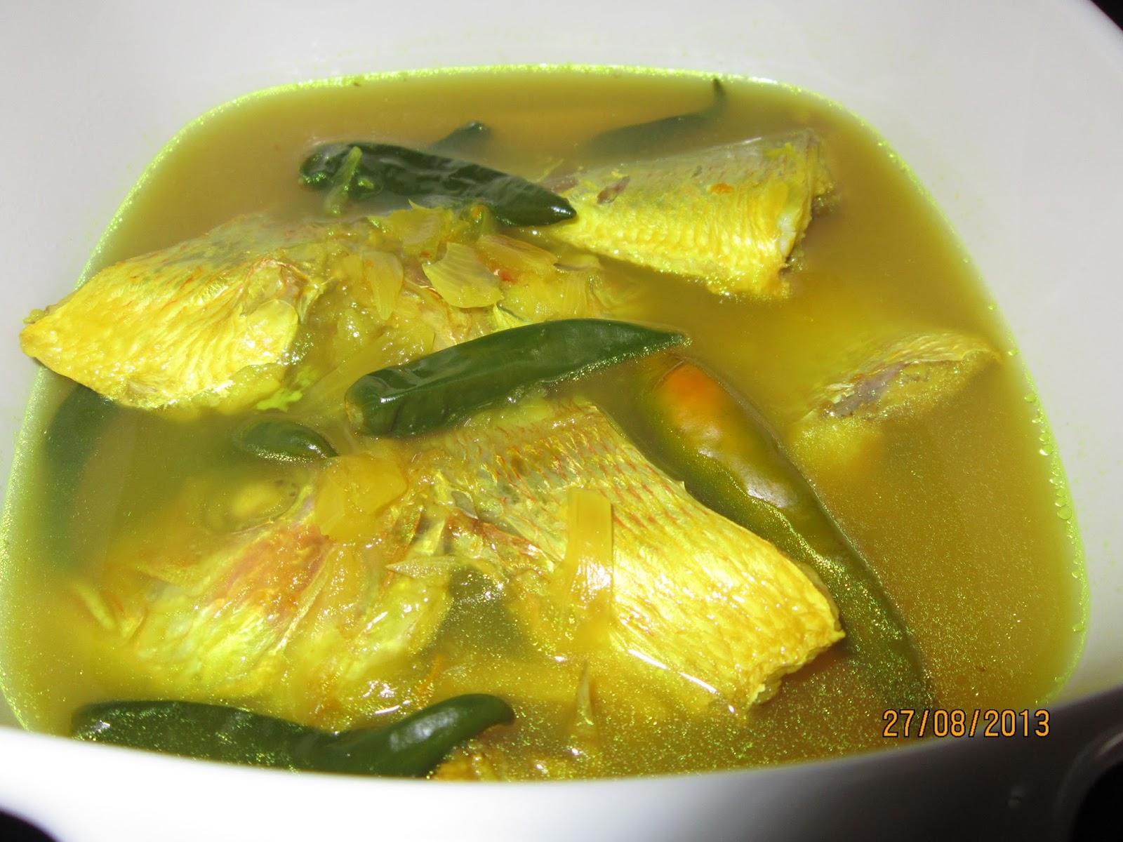 resepi ikan pindang sedap resep masakan khas Resepi Ikan Kerapu Bakar Enak dan Mudah