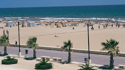 La Playa de las Arenas en Valencia