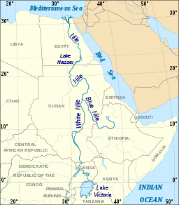Nile River, North-East Africa
