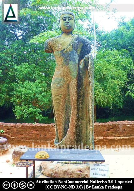 The Buddha Statue of Owagiriya, Ampara