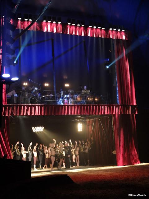 cirque alexis gruss Paris 16eme pegase icare spectacle chevaux ecuyer acrobates farfadais