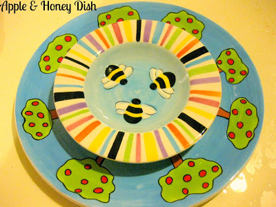 apple and honey dish
