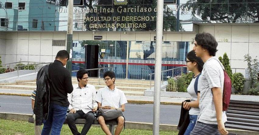 UIGV: Alertan que Universidad Inca Garcilaso de la Vega está en riesgo de no obtener licenciamiento de la SUNEDU