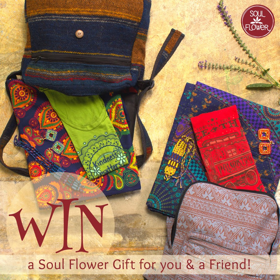 BFF Soul Flower Giveaway - Tag your Friend - Soul Flower Contest