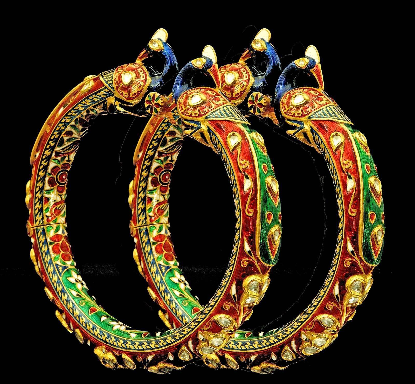 Image result for Meenakari Jewellery