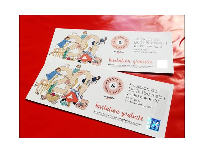 Des id es de couture pour no l bettinael passion couture - Salon creations savoir faire invitation ...