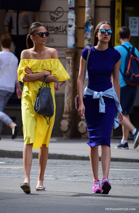 Street Style Trend: How to Wear Off the Shoulder