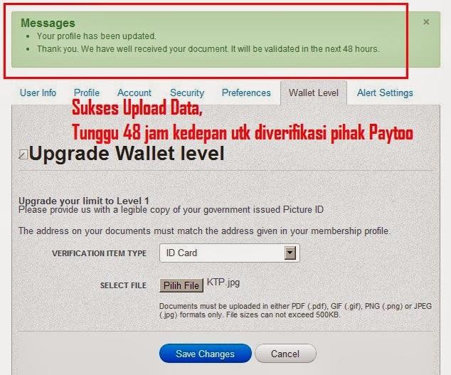 Cara Daftar Paytoo Payment Online - Verifikasi Paytoo ...