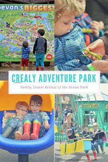 Crealy adventure park, Devon, family travel blog, themummyadventure.com