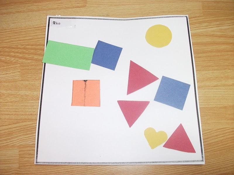 shapes collage paper craft preschool crafts for kids. Black Bedroom Furniture Sets. Home Design Ideas