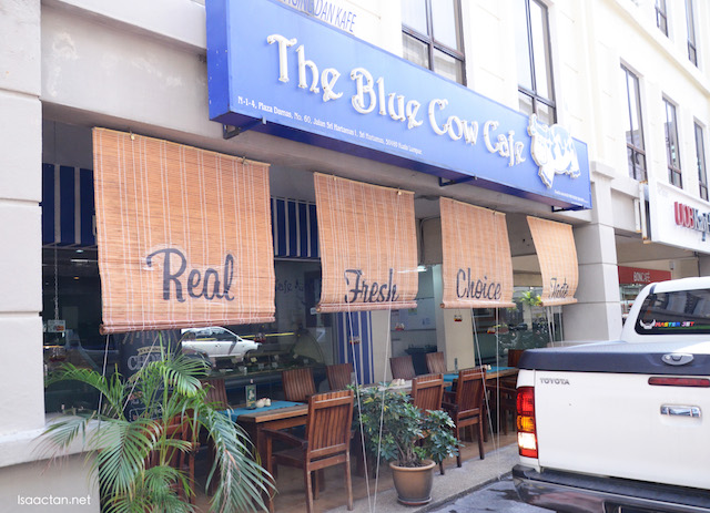 The Blue Cow Cafe @ Plaza Damas, Sri Hartamas