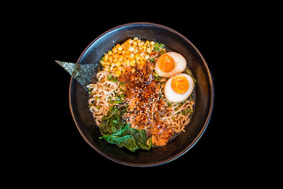 Clean-out-the-fridge miso ramen