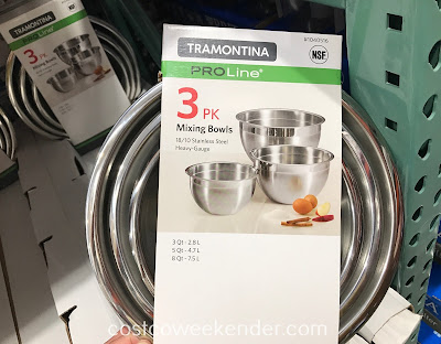 Make food prep easier with the Tramontina 3 pk Mixing Bowls