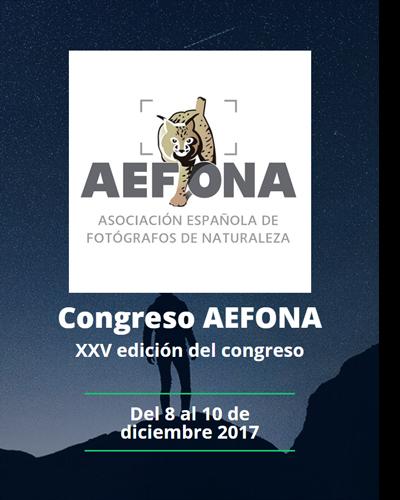 Congreso Anual de la Asociación Española de Fotografía de la Naturaleza