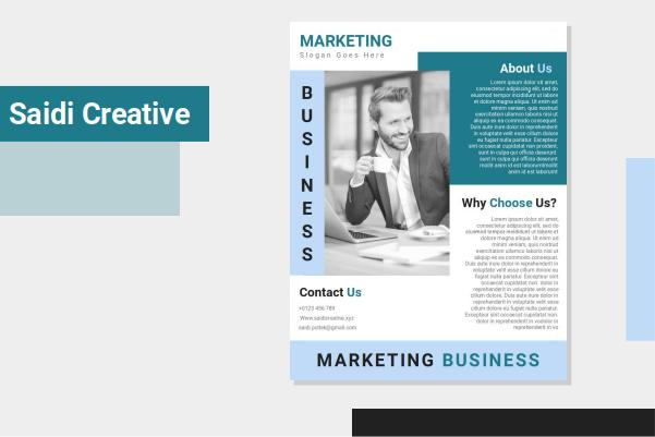 Free Download Business Marketing Flyer Template Word Document File