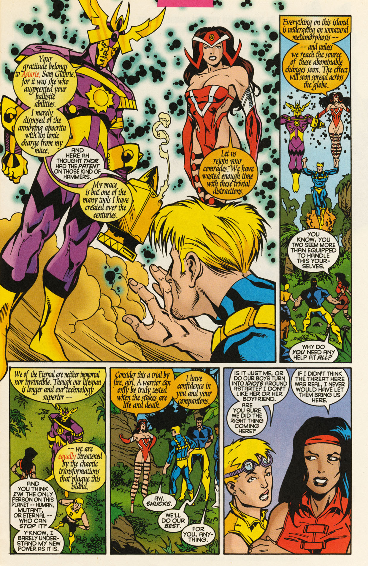 Read online X-Force (1991) comic -  Issue #93 - 7