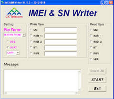 imei Sn Latest Version v1.5.3 Writer Tool Software Free Download