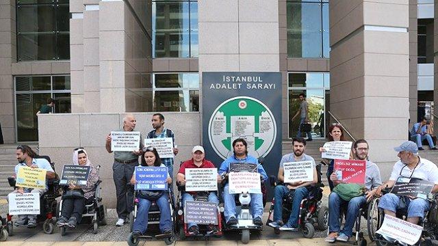 Engelli vatandaşlardan anadolu belediyeleri hakkında suç duyurusu