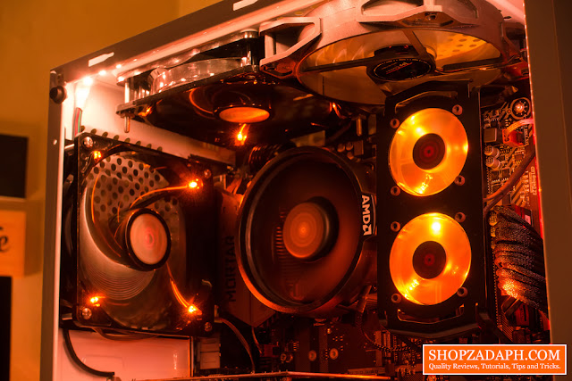 how to replace leds on case fans