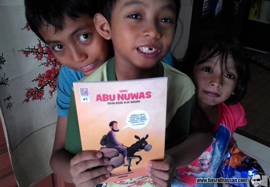 Komik Abu Nuwas Mendidik Menjadi Insan Hebat