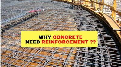 WHY CONCRETE NEED REINFORCEMENT ??