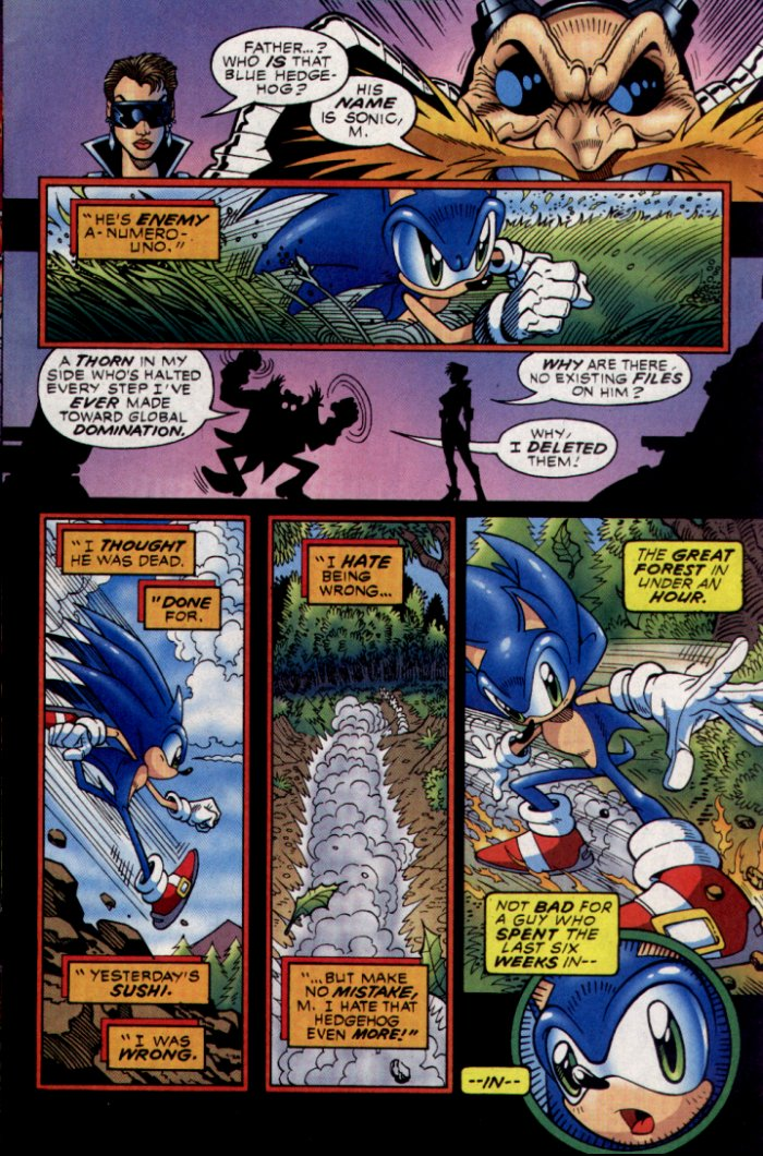Read online Sonic The Hedgehog comic -  Issue #130 - 11