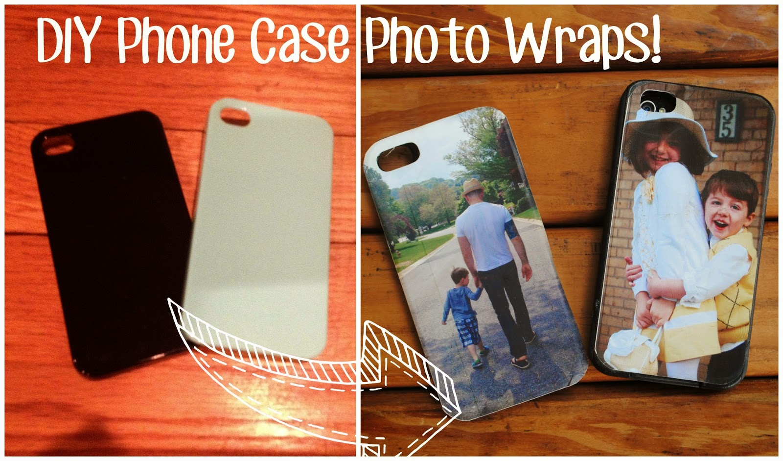 DIY, do it yourself, photo phone case cover, Silhouette tutorial, print and cut, free Silhouette Studio file