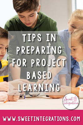 Find great tips to help prepare students for project based learning. Click through to see all 10 tips you can implement right away with your upper elementary or middle school students. Ideas include Ted Talks, read alouds, journaling, and others. Great ideas you can use immediately in your classroom or homeschool studies! {3rd, 4th, 5th, 6th, 7th, 8th grade, third, fourth, fifth, sixth, seventh, eighth graders, home school} #sweetintegrations #technology #projectbasedlearning