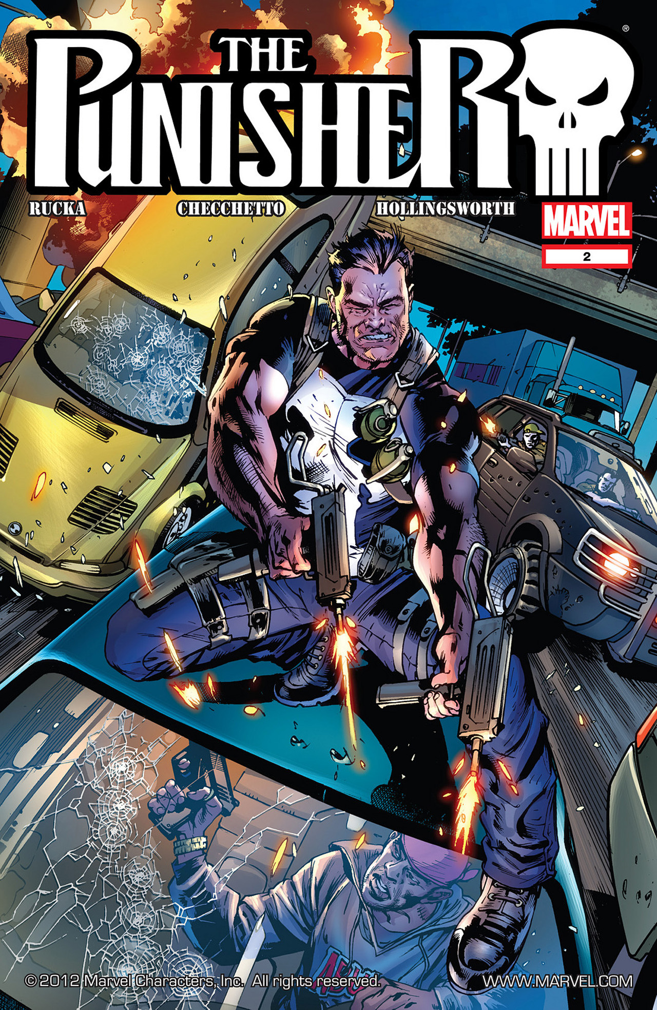 The Punisher (2011) 2 Page 1