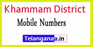 Bhadrachalam Mandal Sarpanch Wardmumber Mobile Numbers List Part II Khammam District in Telangana State