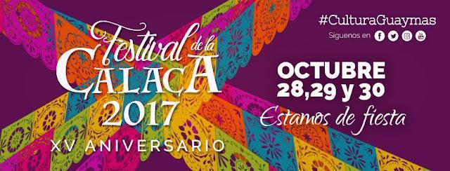 festival de la calaca guaymas 2017