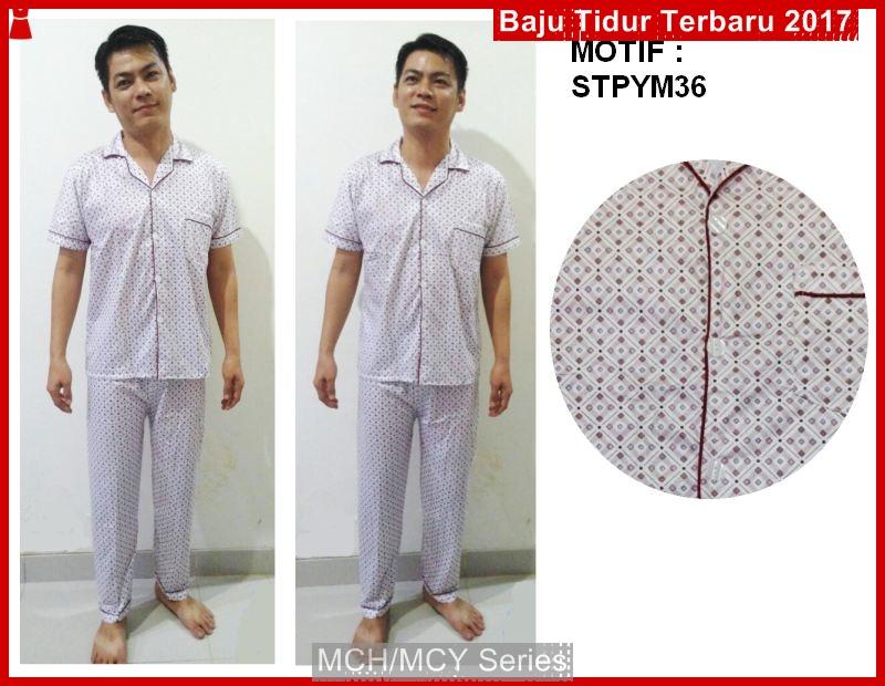 MCH09 Baju Tidur Piyama Laki Cowok Dewasa Murah