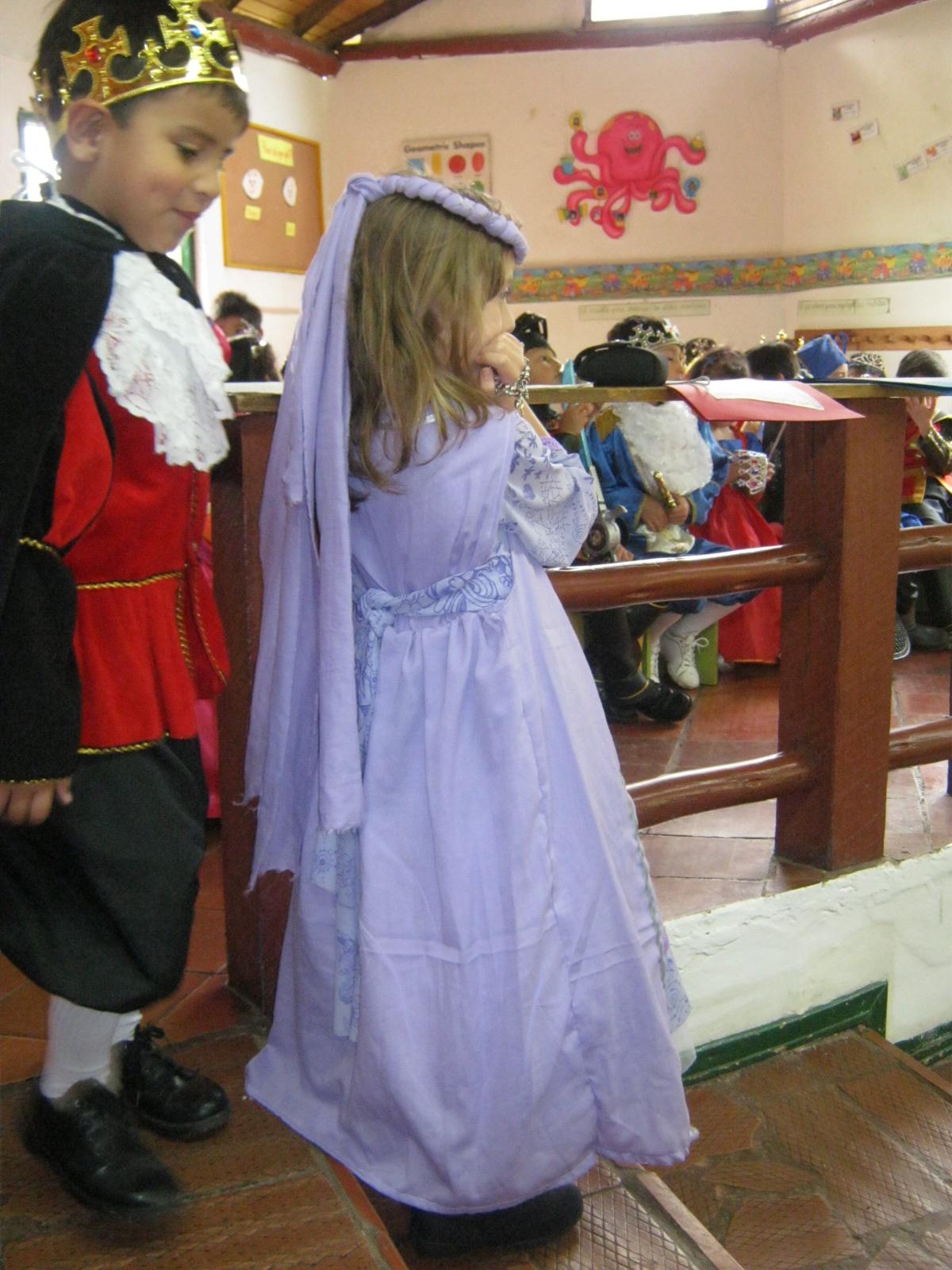 Handy Mom: Disfraz dama medieval