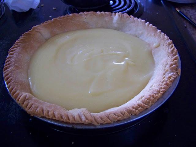 Lemon Meringue Pie without the meringue.