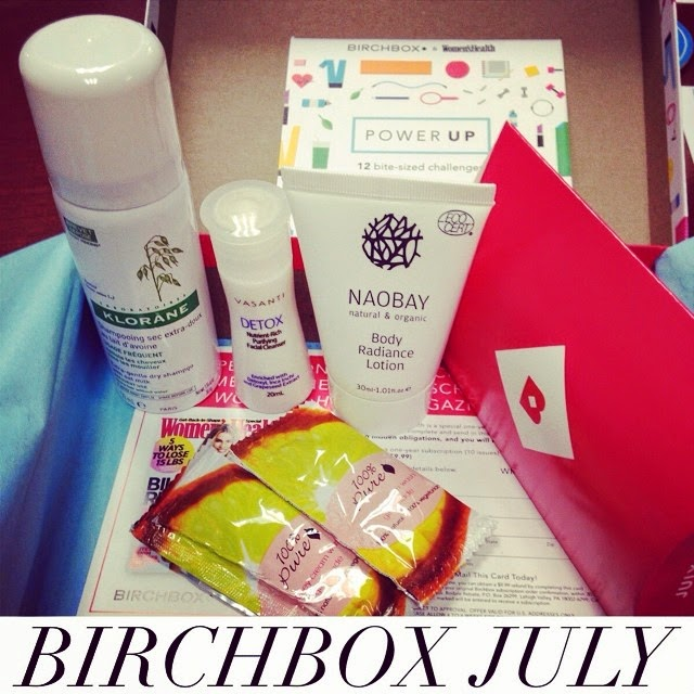 July 2014 Birchbox Power Up
