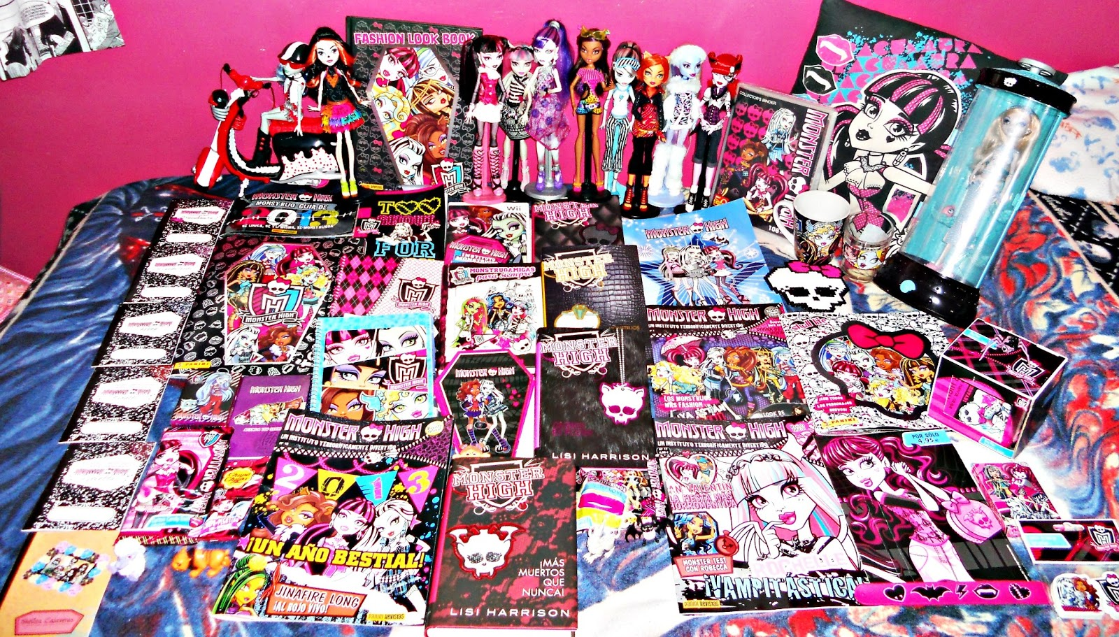 Monster High Libros Cuadernos Monster High Imagui