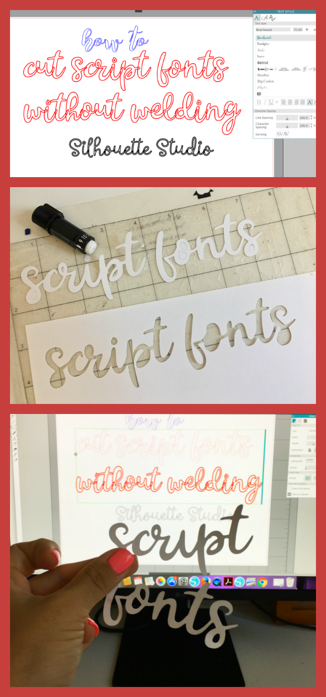 cutting script fonts, silhouette cameo welding, silhouette cameo text, cut script fonts full words
