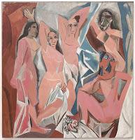 Exposition Picasso Mania Grand Palais Les demoiselles d'Avignon - Pablo Picasso