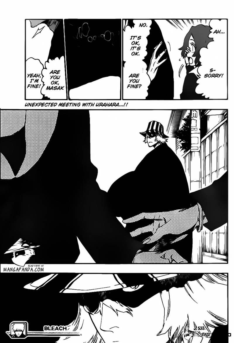 Bleach chapter 533 trang 19