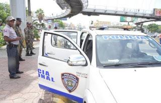 Policías y militares amanecieron en las calles atentos a protesta de Juan Hubieres