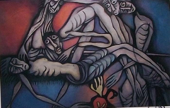 Современные художники Индии