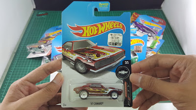 Hot Wheels Super Treasure Hunt 67 Camaro