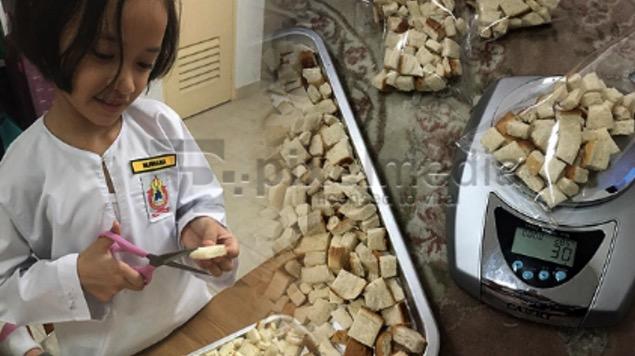 Ibu Simpan Roti Tamat Tempoh, Anak Jadi Bingung