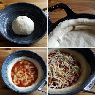 Pizza aus der Pfanne - Jankes Soulfood