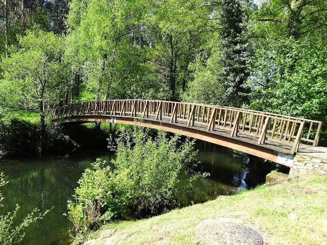Puente en el Parque del Eume en As Pontes de García Rodríguez